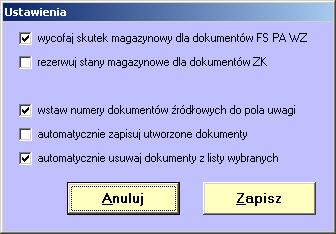 Szybkie tworzenie zbiorczego dokumentu