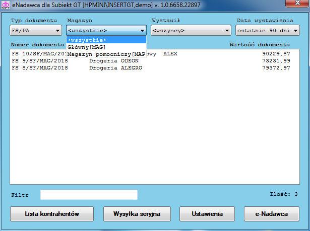 eNadawca dla Subiekt GT ekspresowe generowanie przesyłek