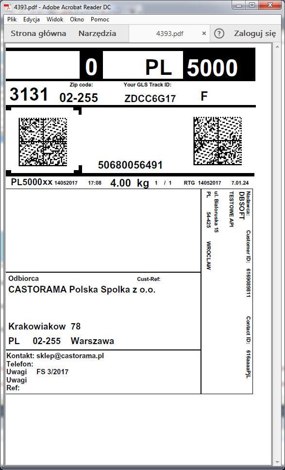 kuriergls_naklejka
