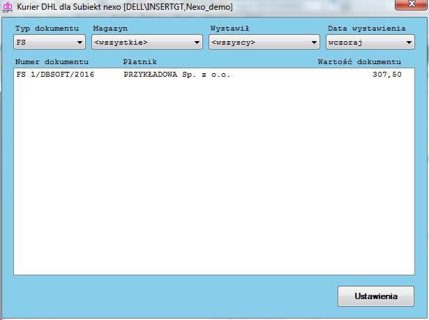 e3088c2f Kurier DHL dla Subiekt nexo