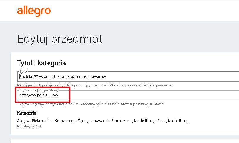 Import Zamowien Z Allegro Dla Subiekt Gt Subiektywnedodatki Pl Moduly Dodatki Dla Subiekt Gt I Nexo